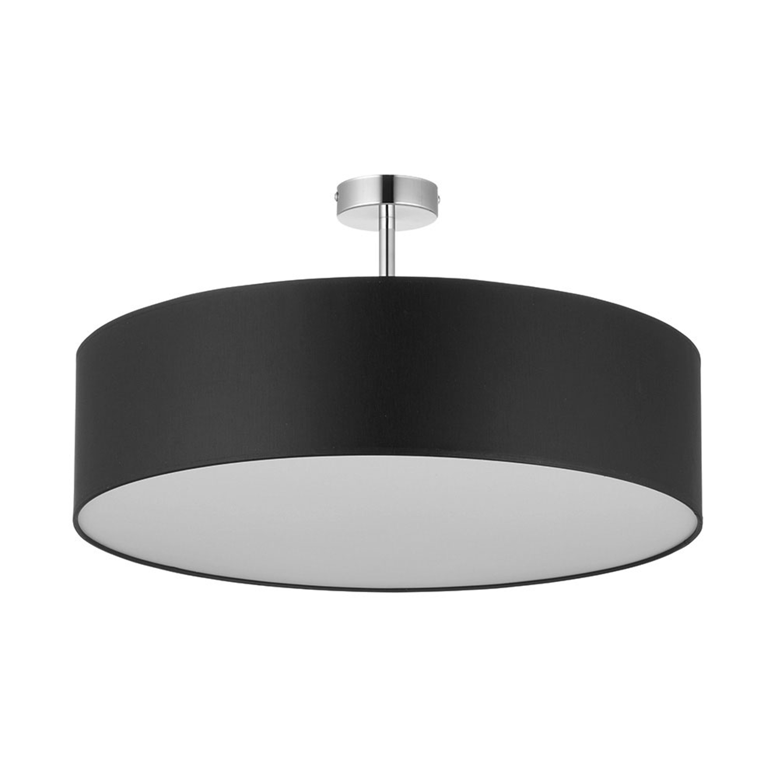 Rondo taklampe med avstand, mørkegrå Ø 60 cm