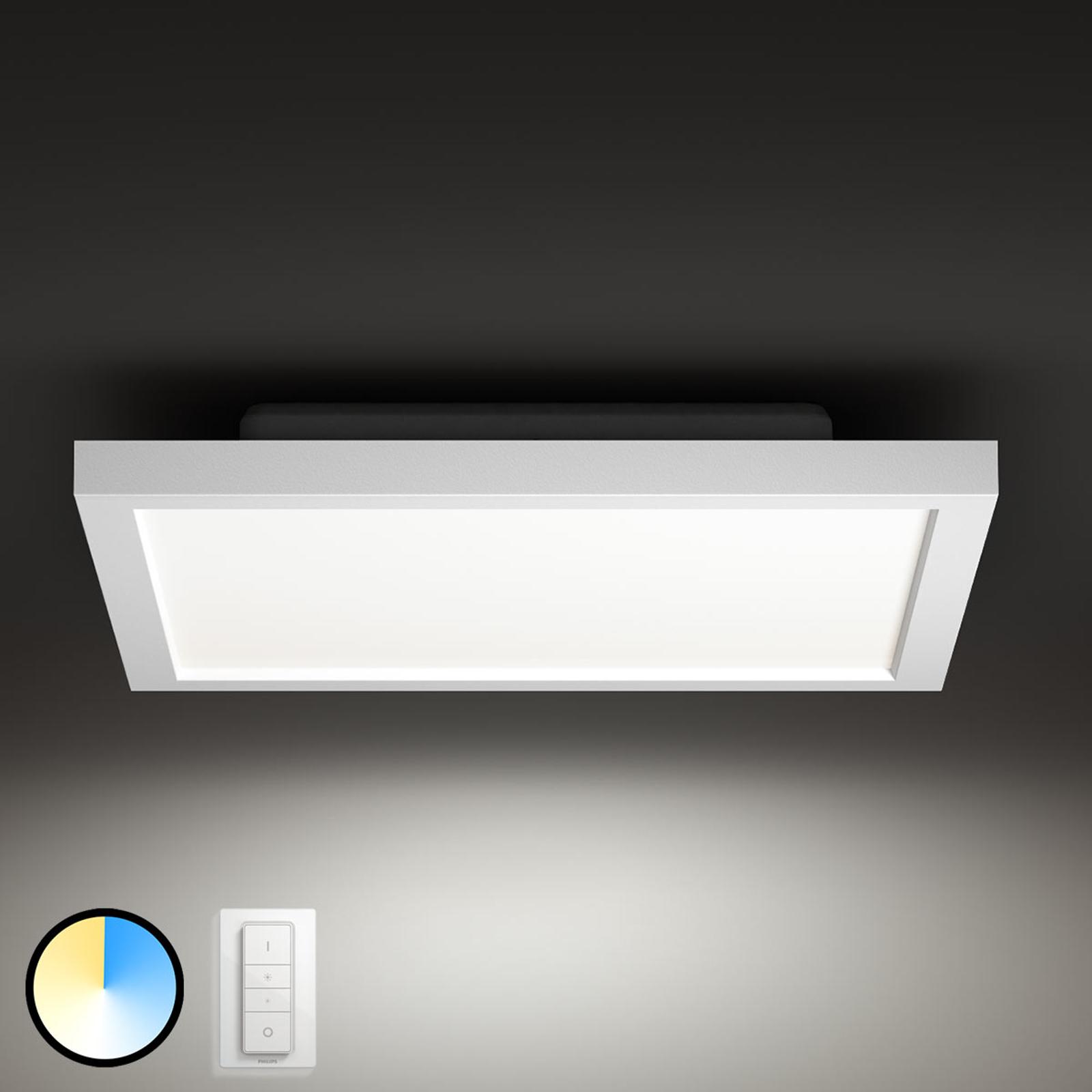 Philips Hue Aurelle panel LED angular, 30 x 30 cm
