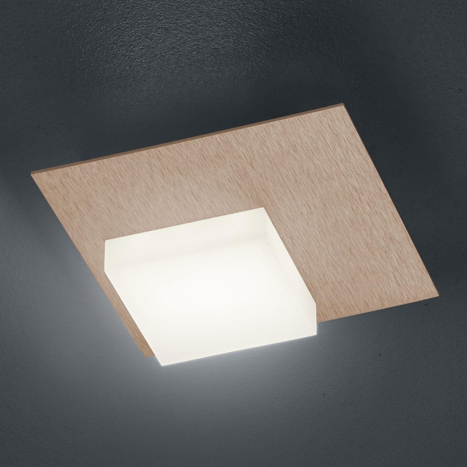 BANKAMP Cube LED-Deckenleuchte 8W, roségold