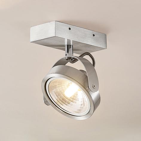 ELC Mitella stropní světlo, jednožárov., stříbrné