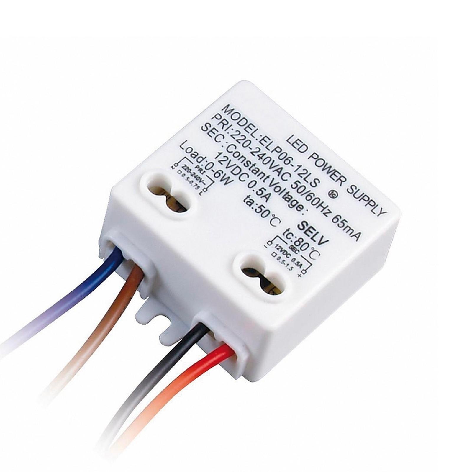 LED elektronisk ballast på 6 watt