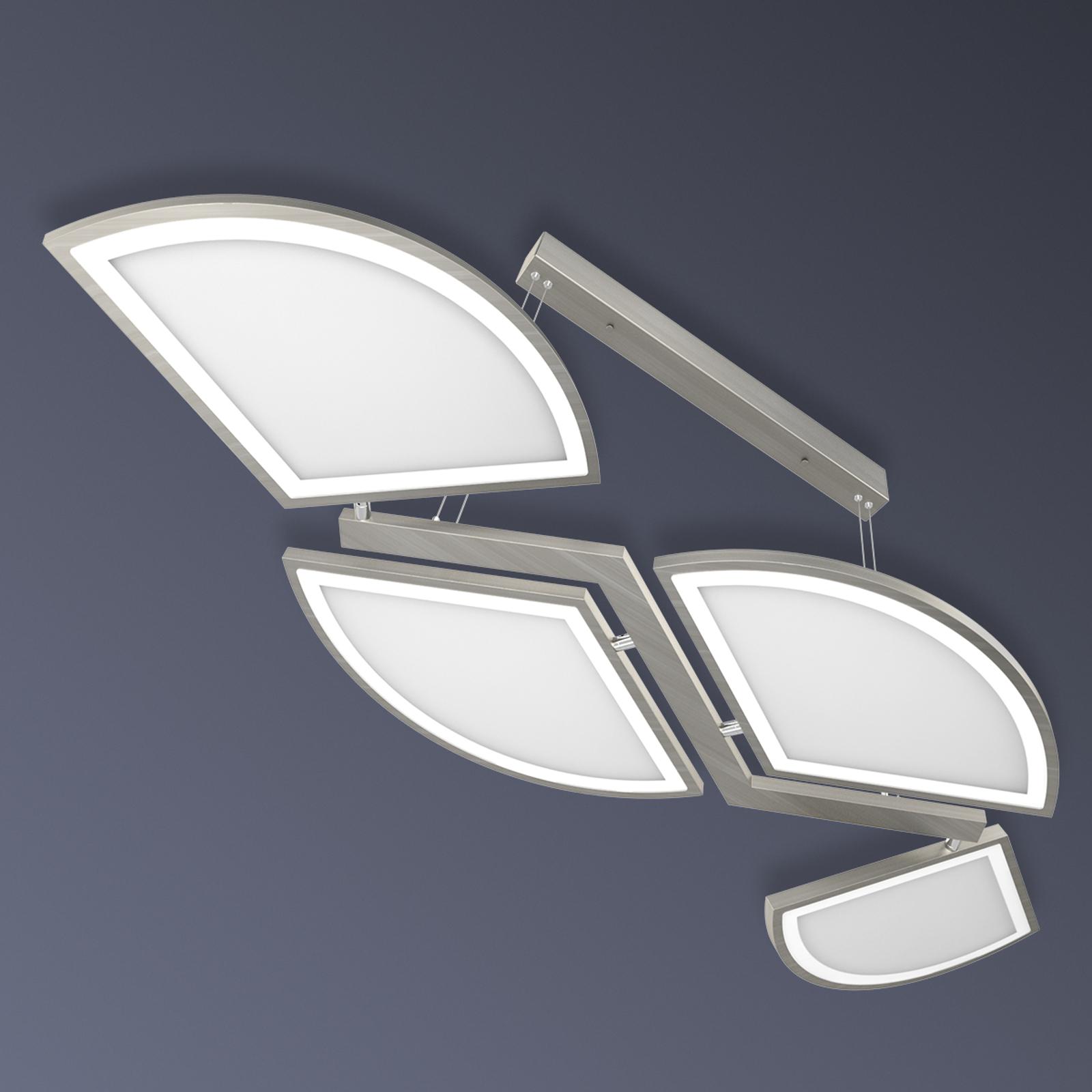 Lámpara LED colgante Movil de cuatro llamas