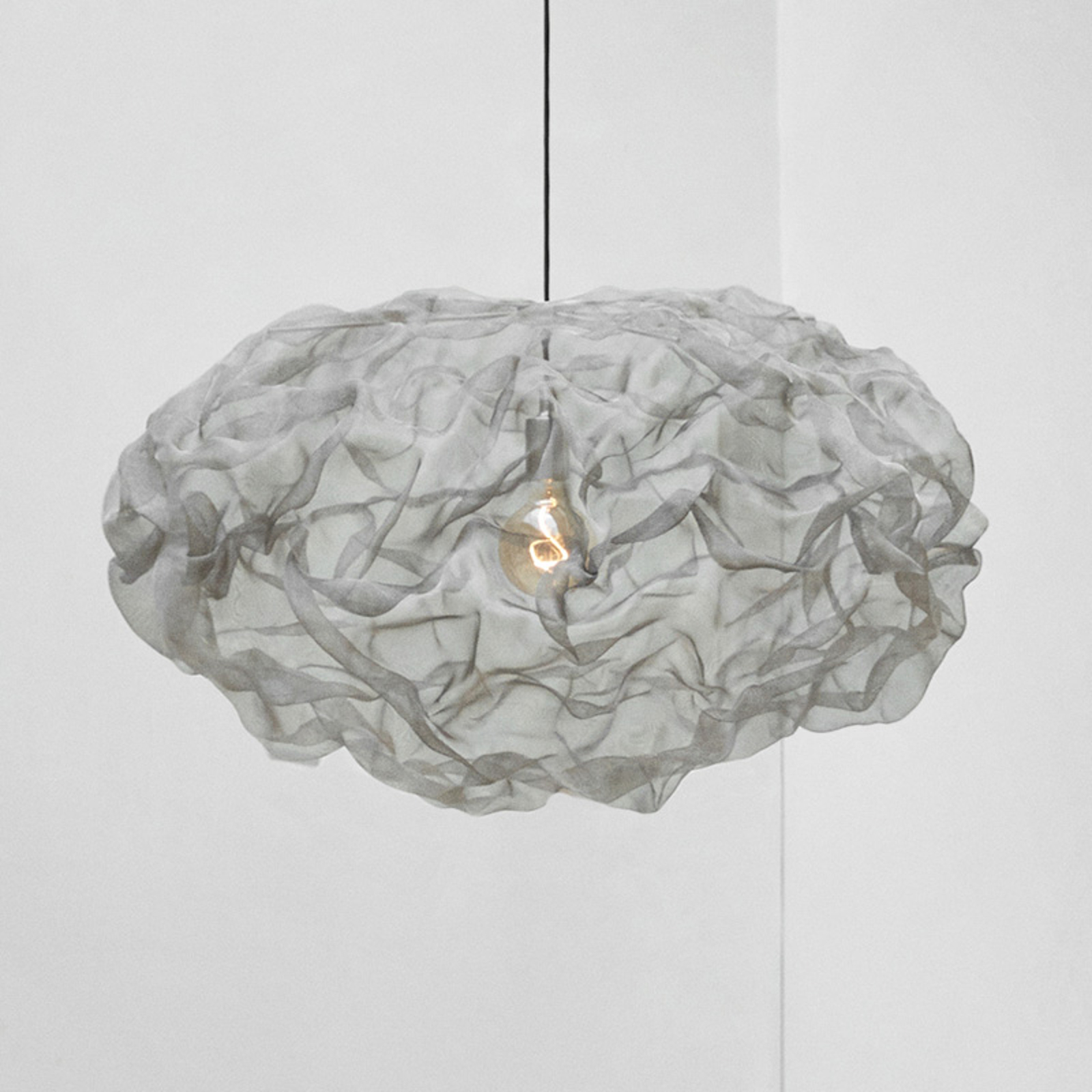 Northern Heat hanglamp, staal, Ø 80cm