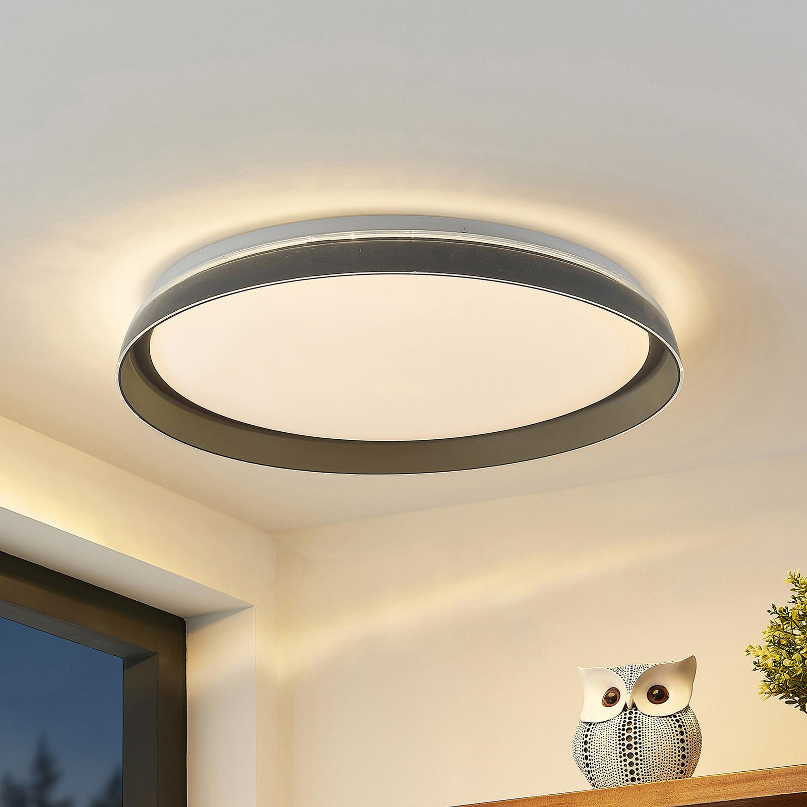 Lindby Kuvan LED-taklampe, CCT, dimbar