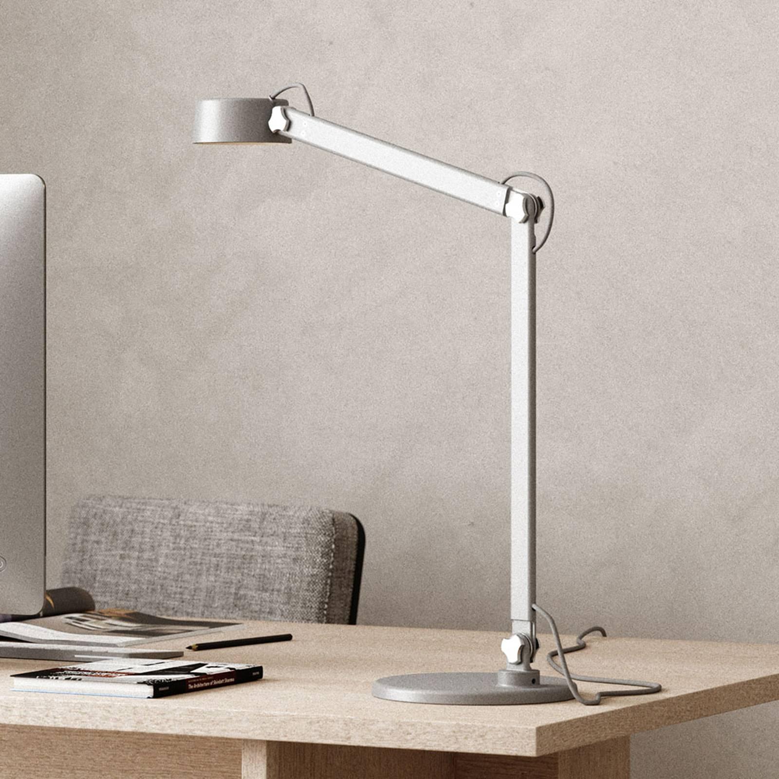 LED-Tischleuchte Nobu, grau
