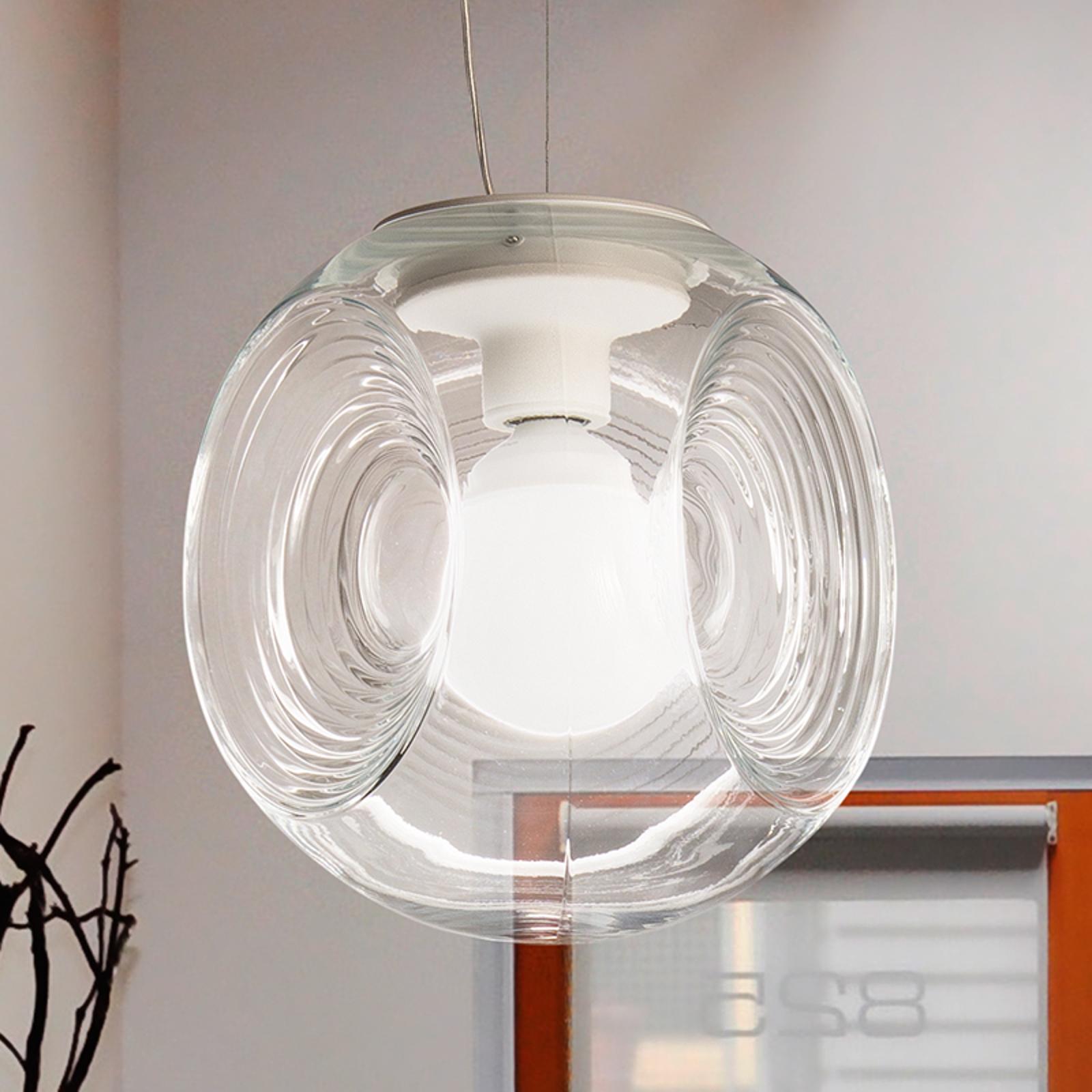 Fabbian Eyes - glashængelampe med klar diffusor