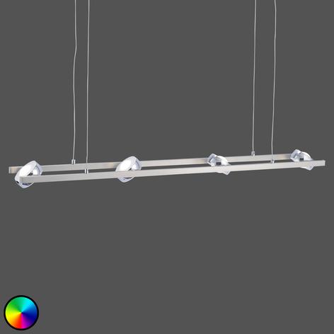 LED-Hängeleuchte Majvi RGBW mit Fernbedienung