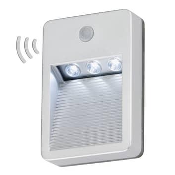 Batteridrevet utendørs LED-vegglampe Prato, sensor