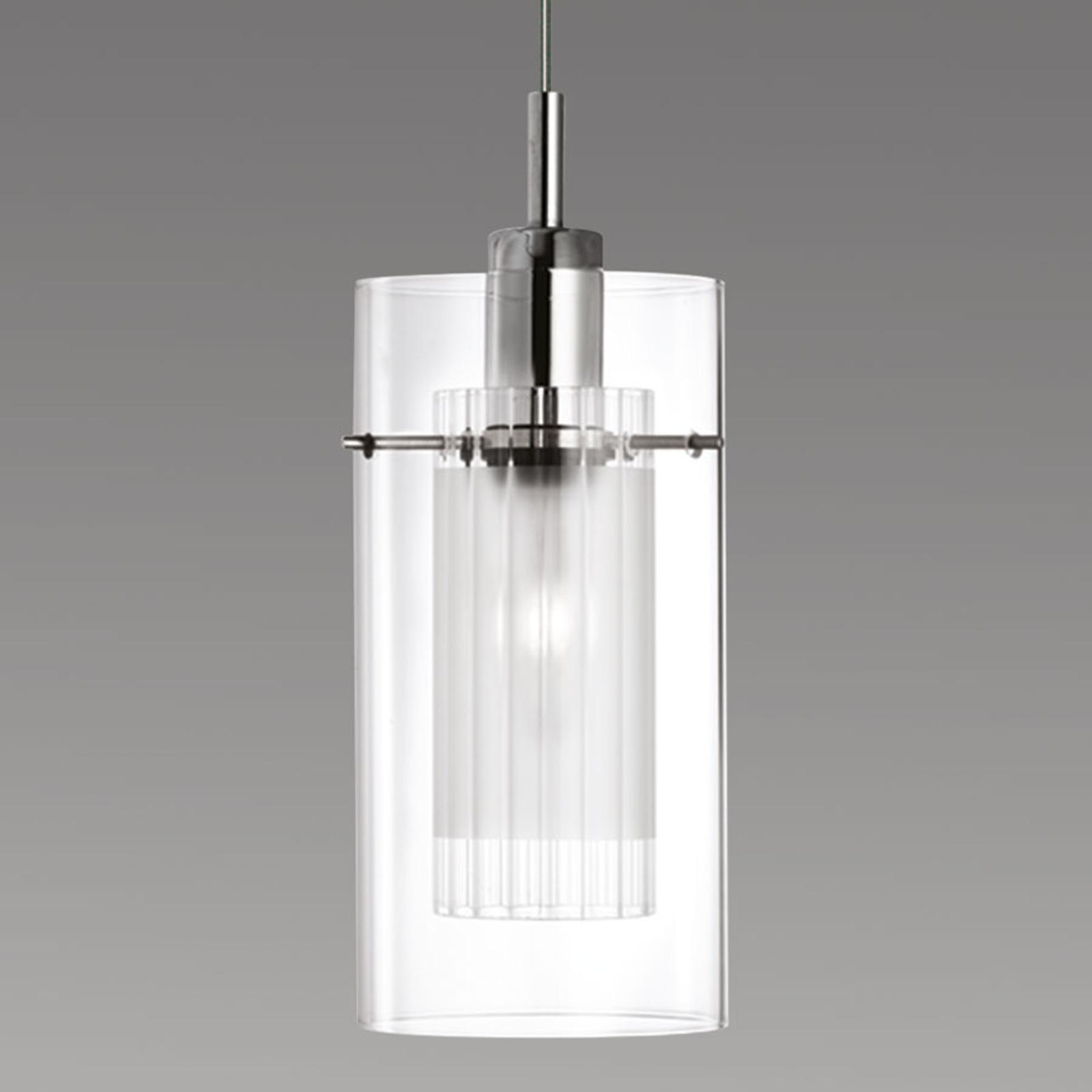 Dekoracyjna lampa wisząca DUO 1, 1-punktowa