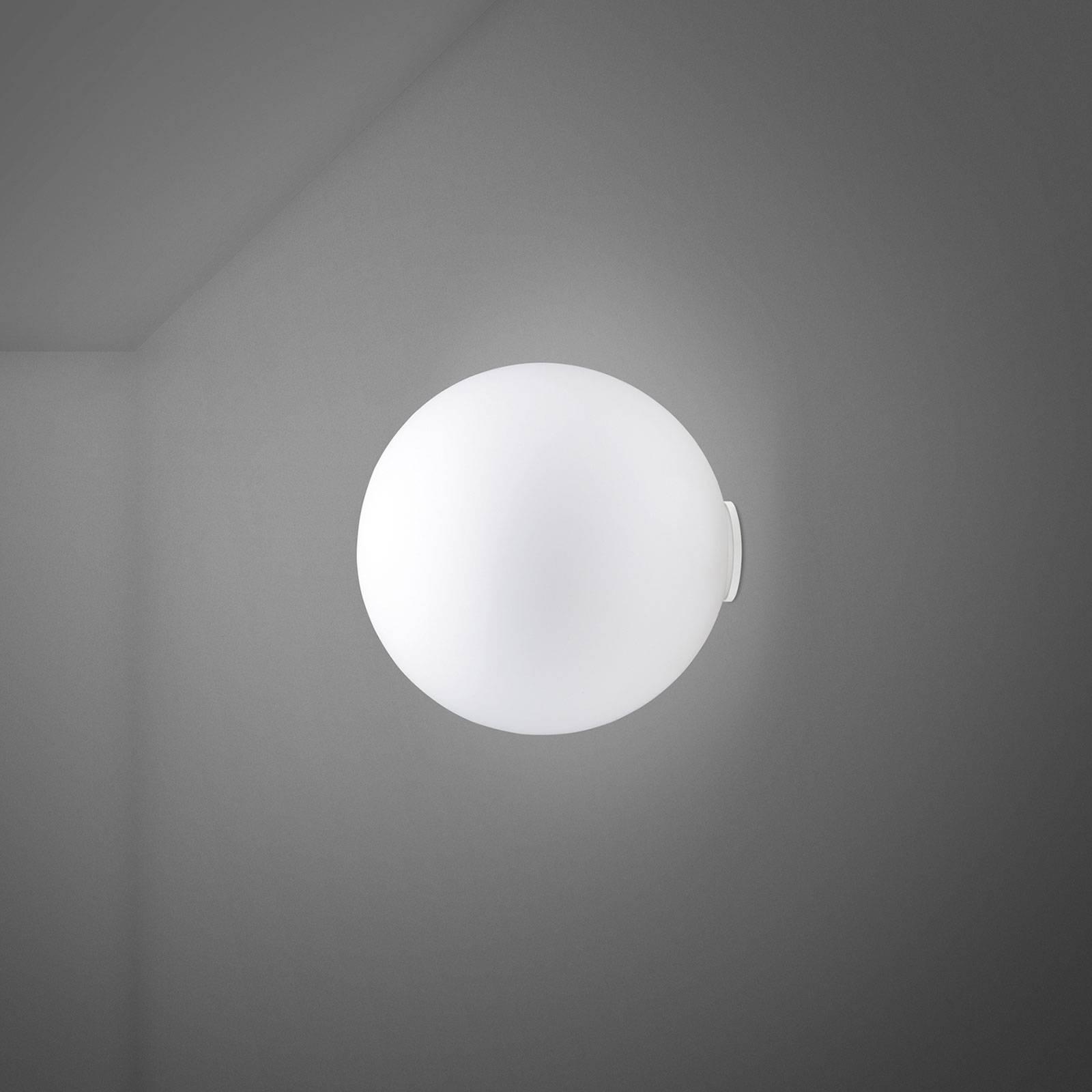Fabbian Lumi Sfera Glas-Wandleuchte, Ø 20 cm
