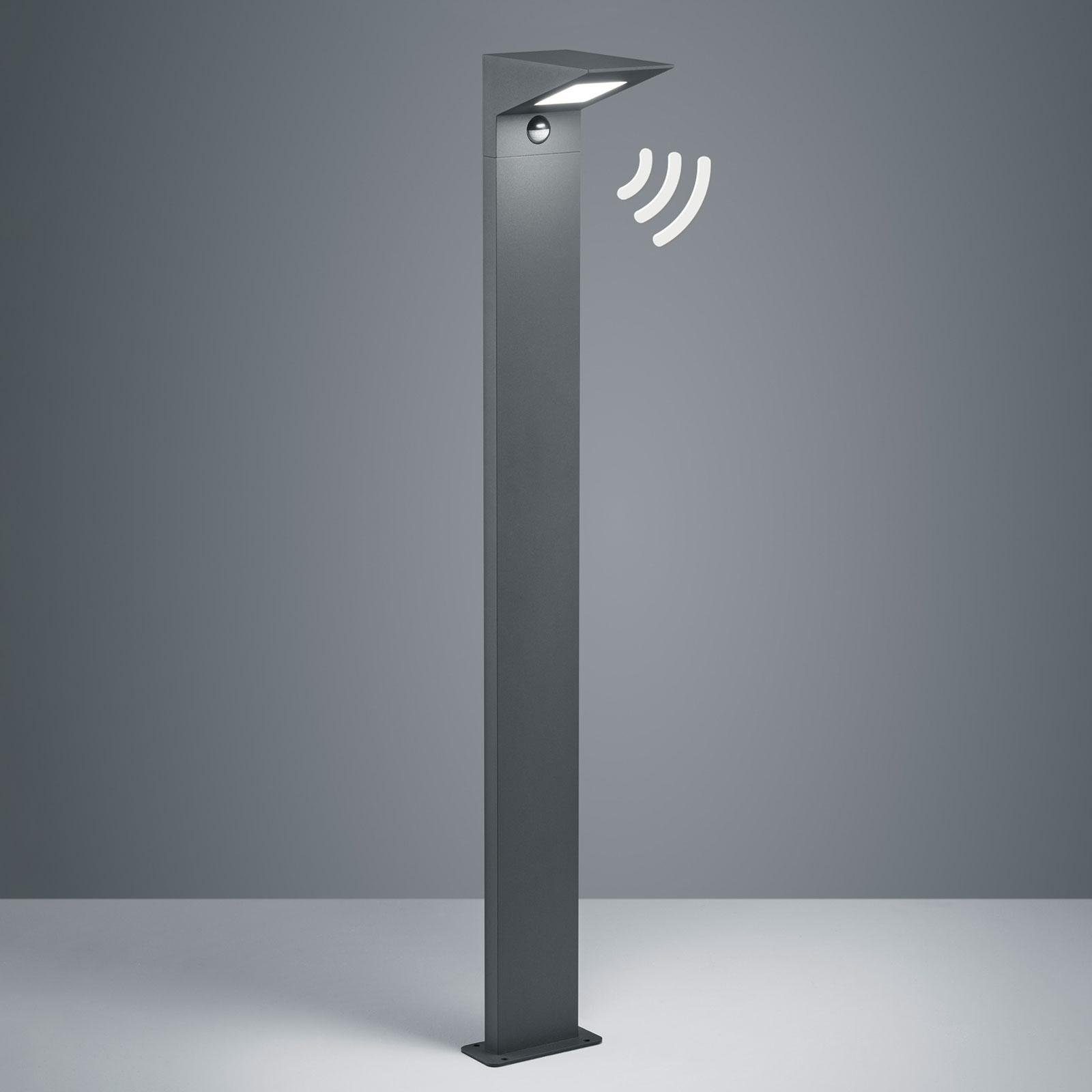 Borne lumineuse LED Nelson, hauteur 100cm capteur