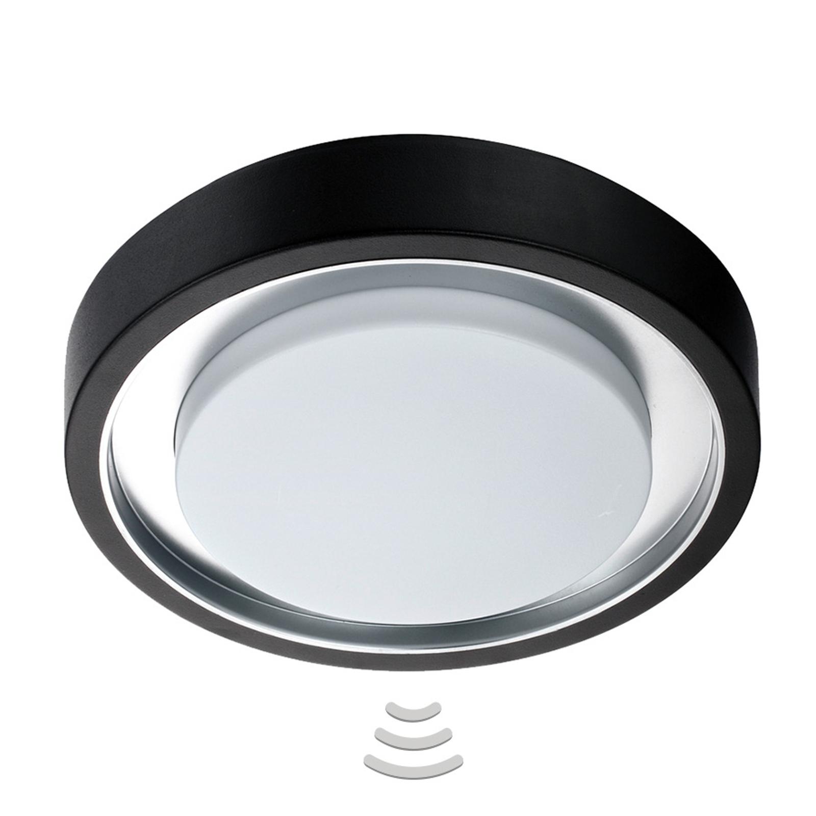 Zewnętrzna lampa sufitowa LED Toki Sensor