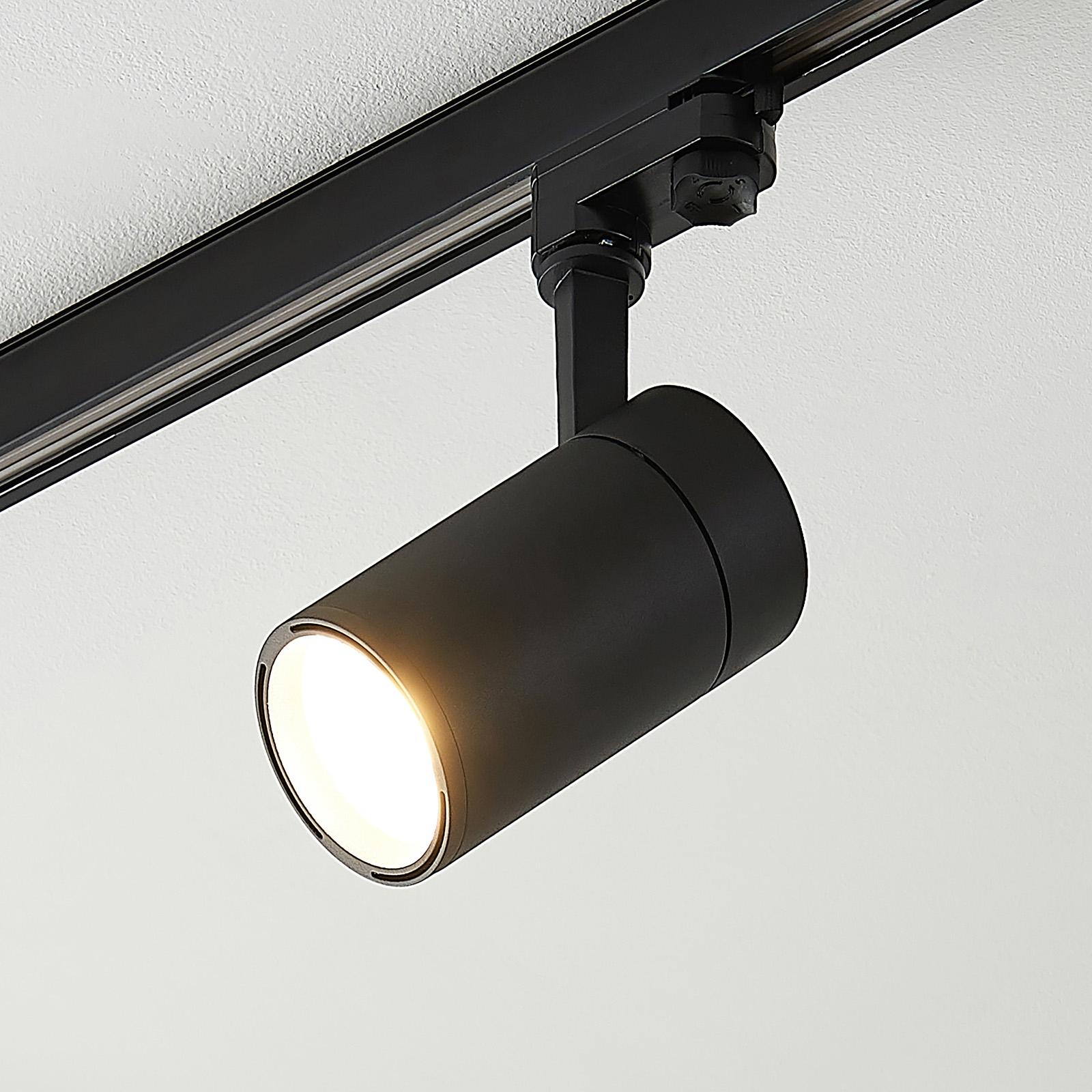 Arcchio Cady LED-Schienenstrahler schwarz 36° 21W