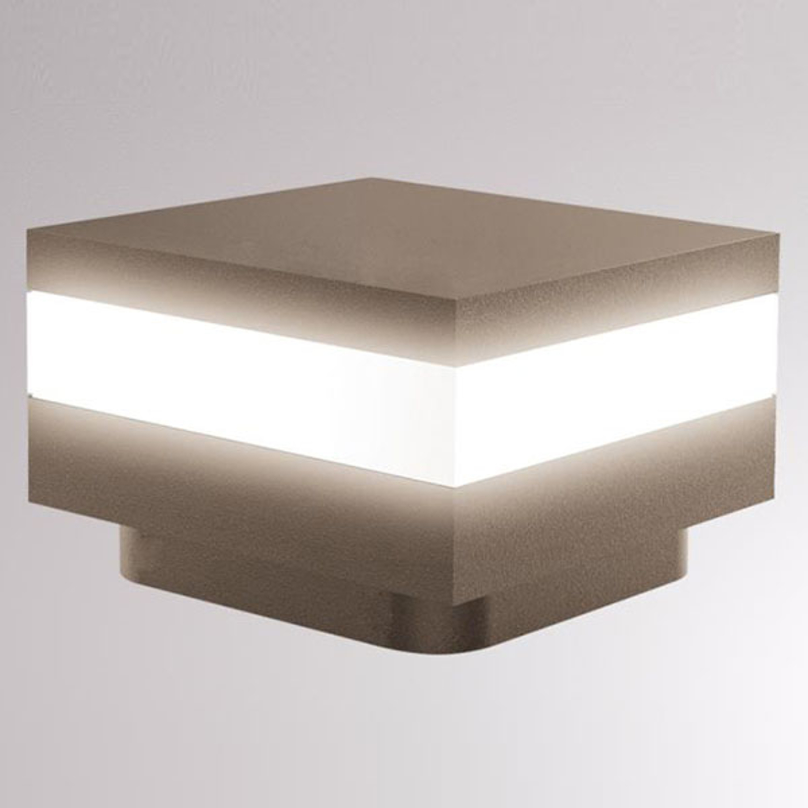 LOUM Mash słupek oświetleniowy LED IP65 terra