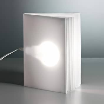 TECNOLUMEN BookLight lámpara de mesa de V. Warnke
