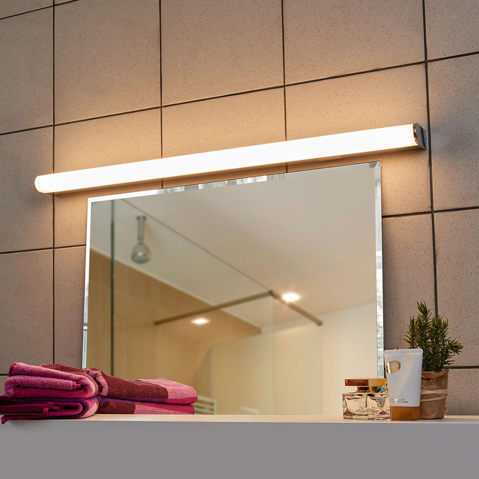 LED-Wandleuchte Jesko Bad 3.000-6.500K, 89cm
