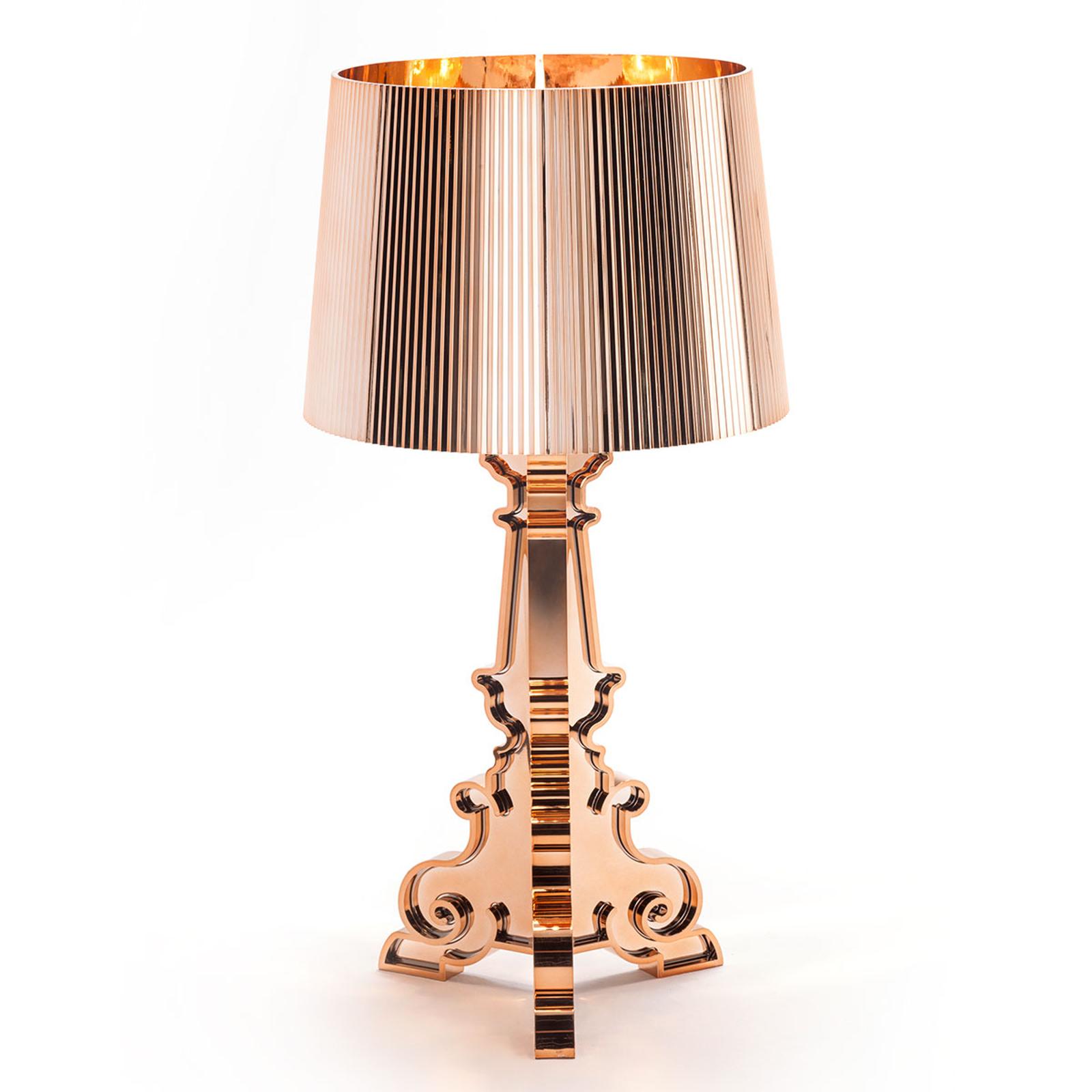 Designer LED bordlampe Bourgie, kobber
