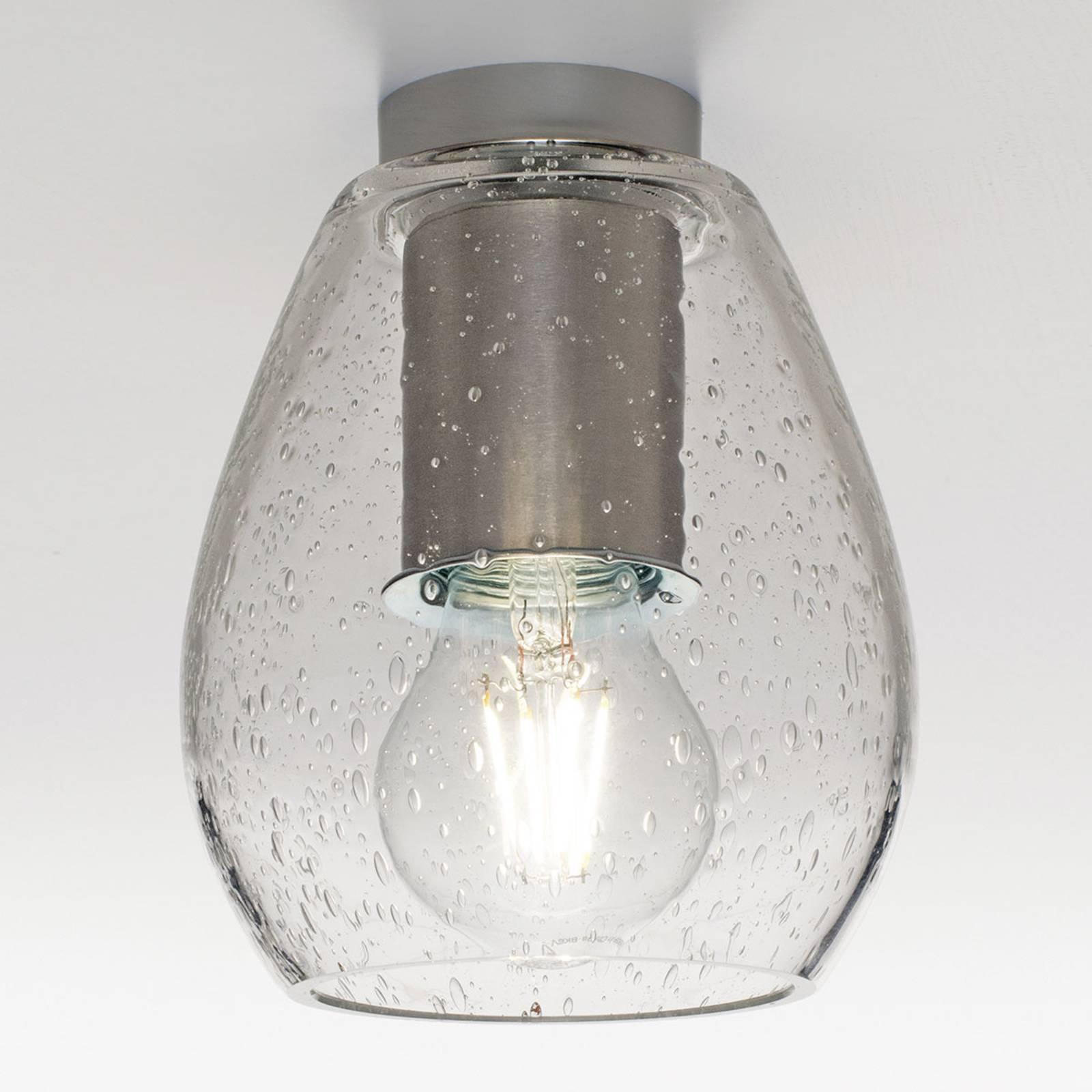 Casablanca Bagan Evolution plafondlamp, bellenglas