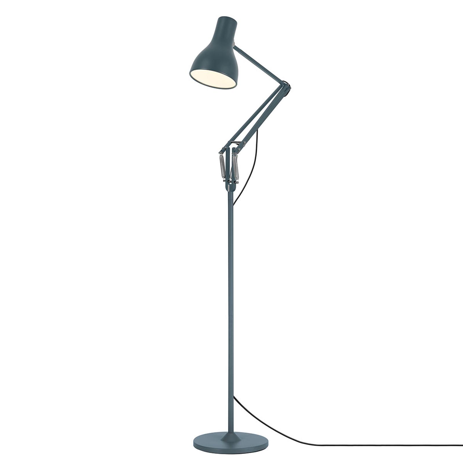 Anglepoise Type 75 vloerlamp leisteen grijs