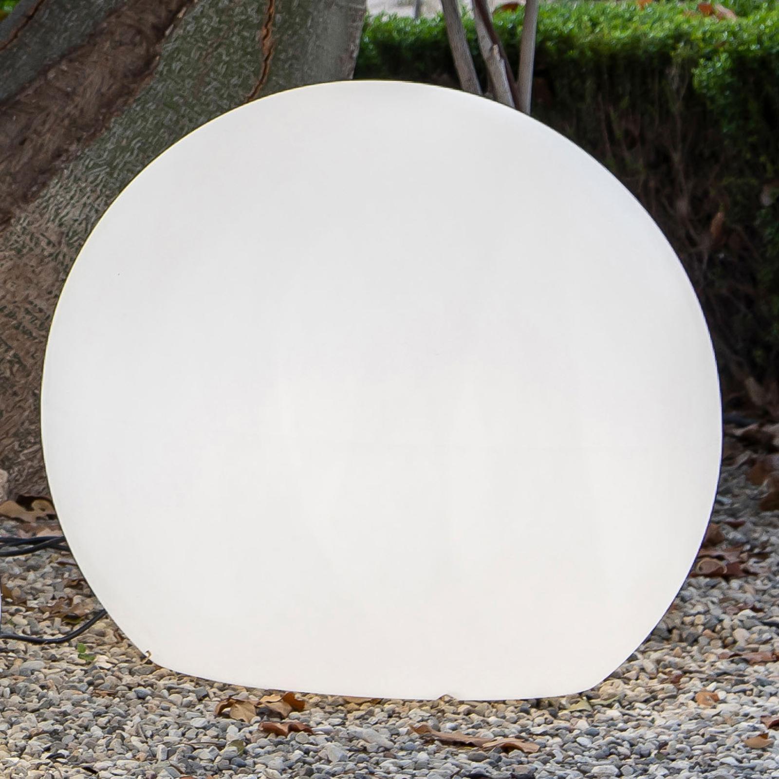 Newgarden Buly -LED-aurinkovalaisin, IP65, Ø 80 cm