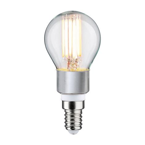Paulmann ampoule goutte LED E14 5W dim to warm