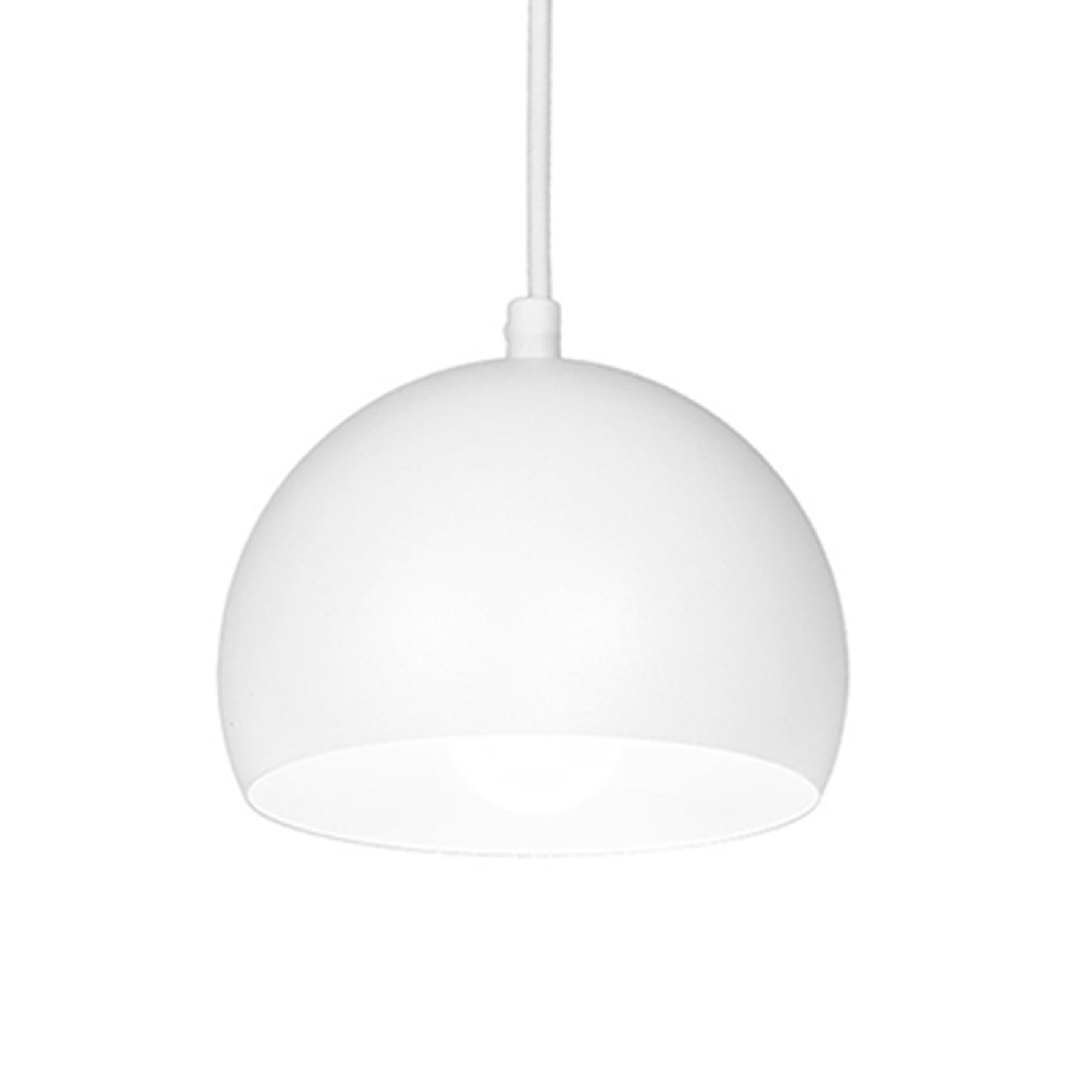 Lampa wisząca Sool, biała, 1-punktowa