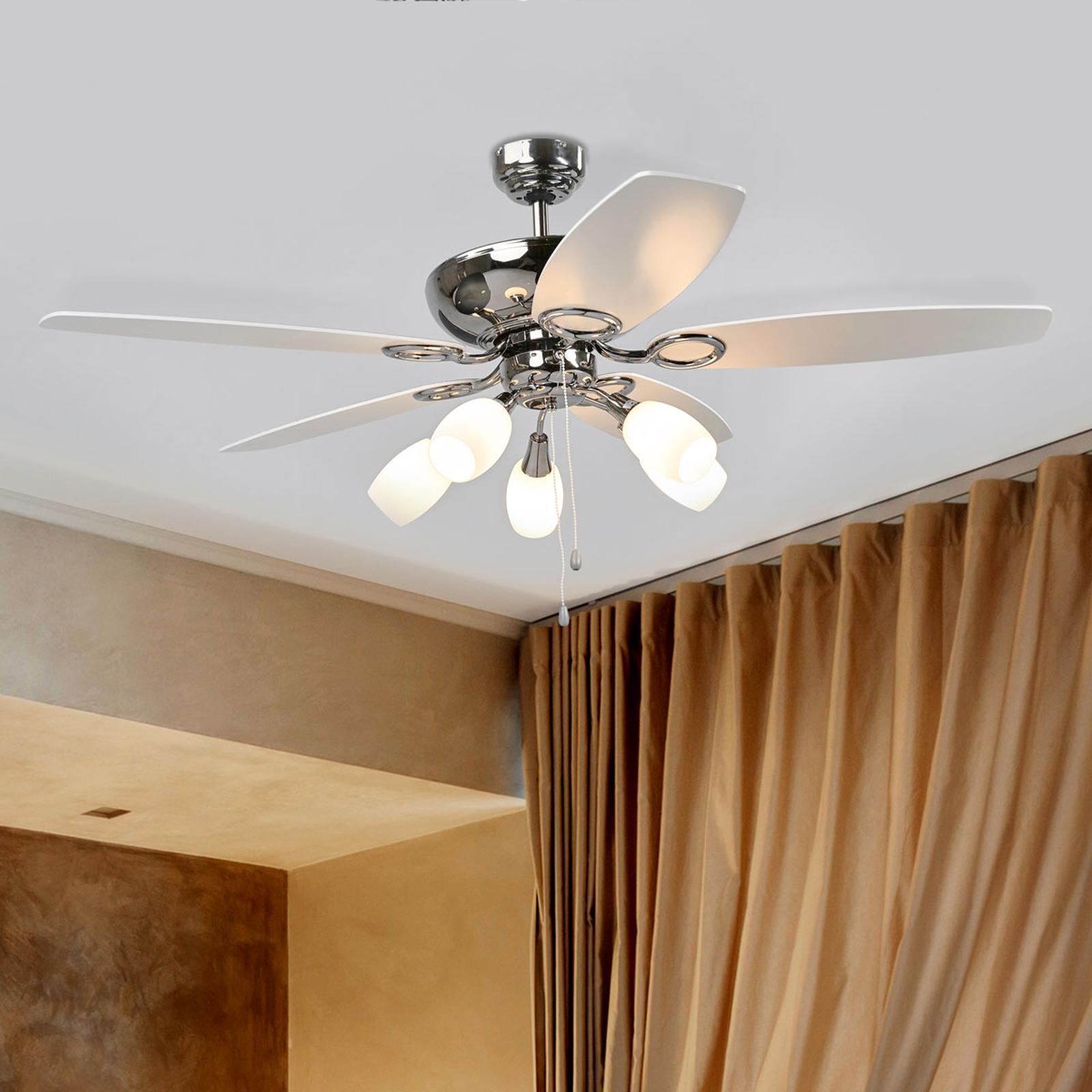 Ventilatore da soffitto a 5 pale Cedrik