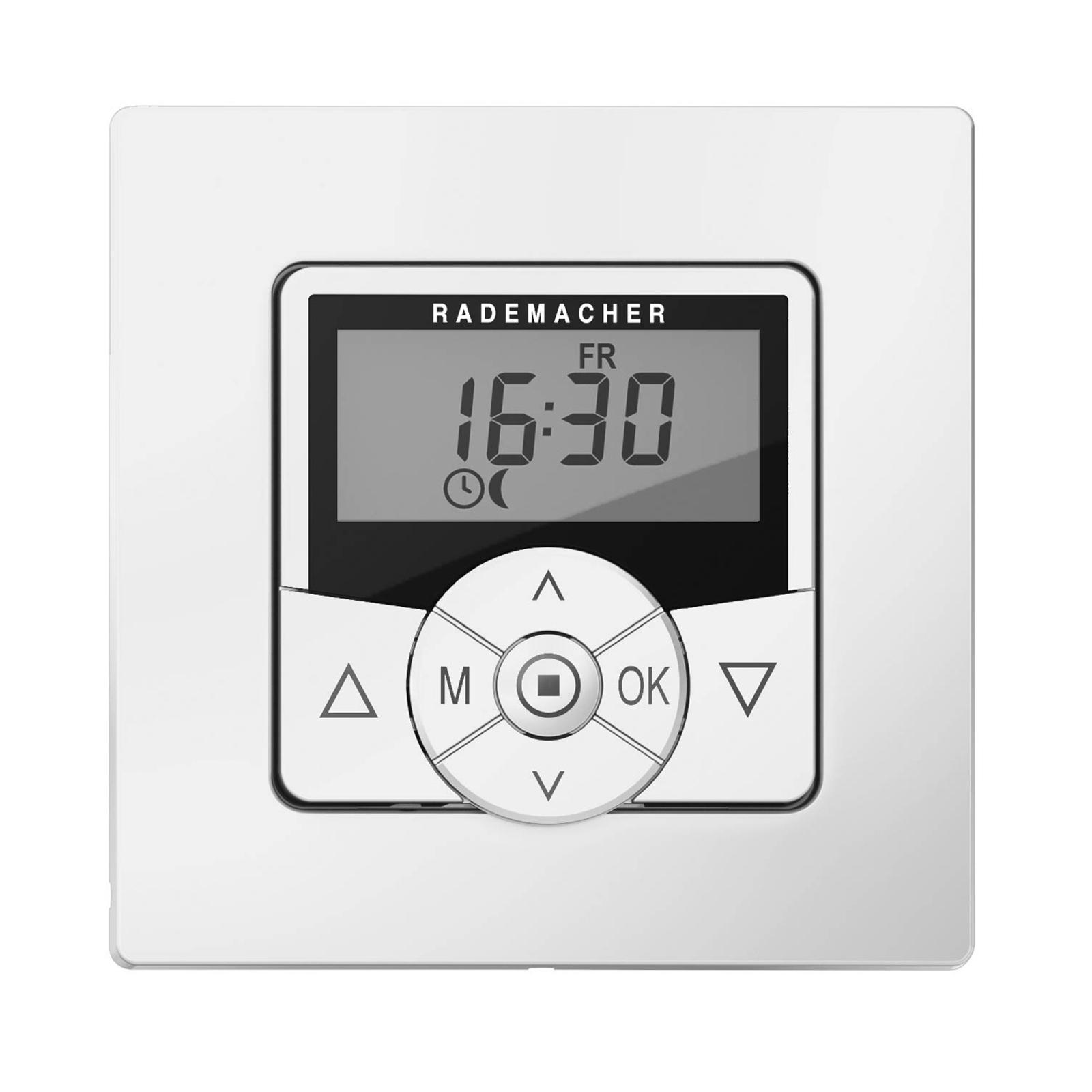 Rademacher Troll Standard Zeitschaltuhr, weiß