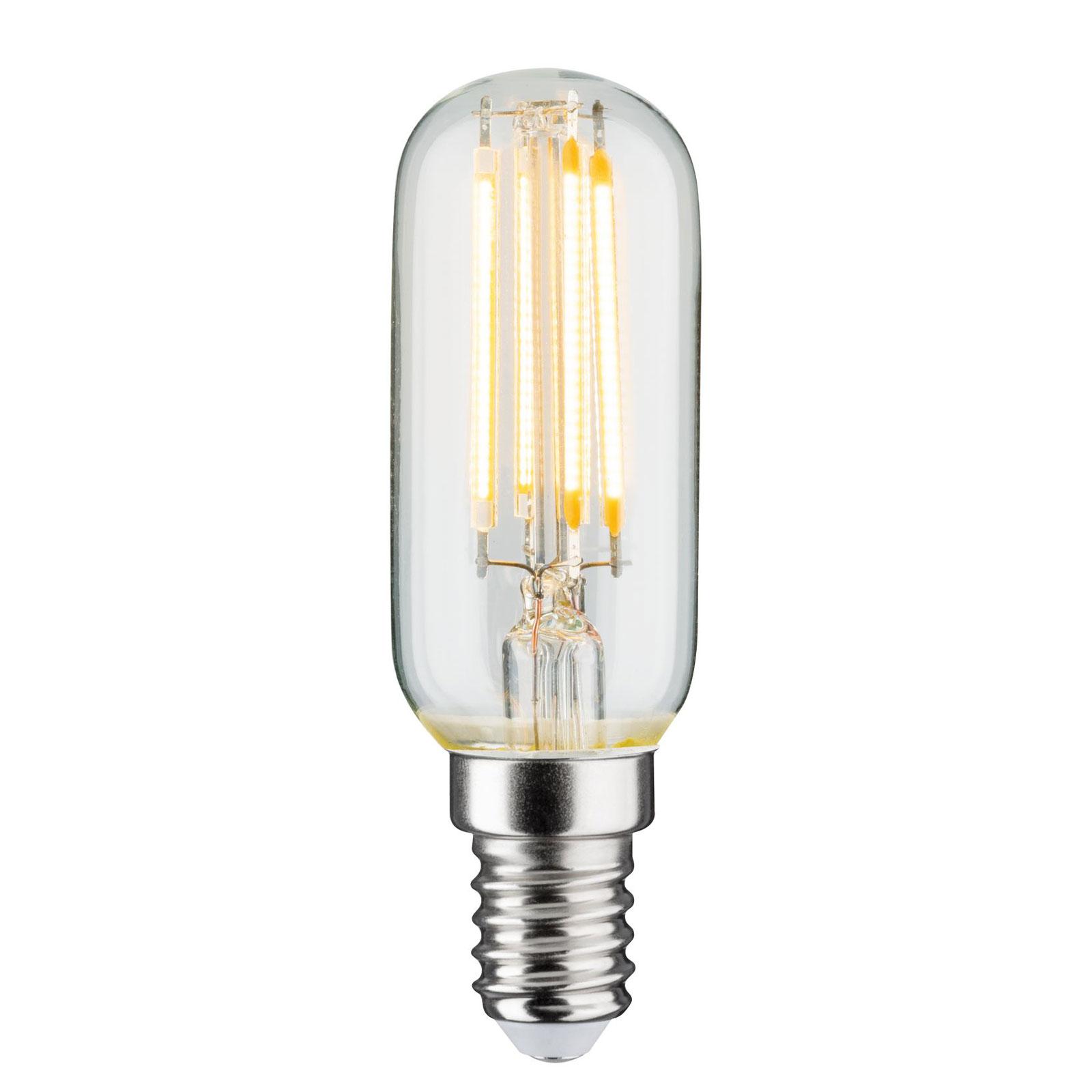 LED-Lampe E14 4,8W Filament 2.700K Röhre klar