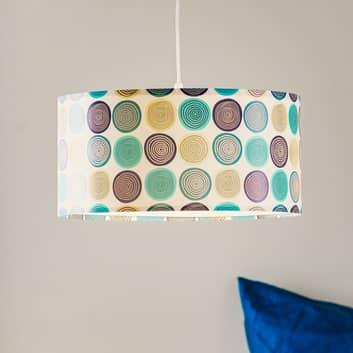 Lampada sospensione Aqua con stampa moderna