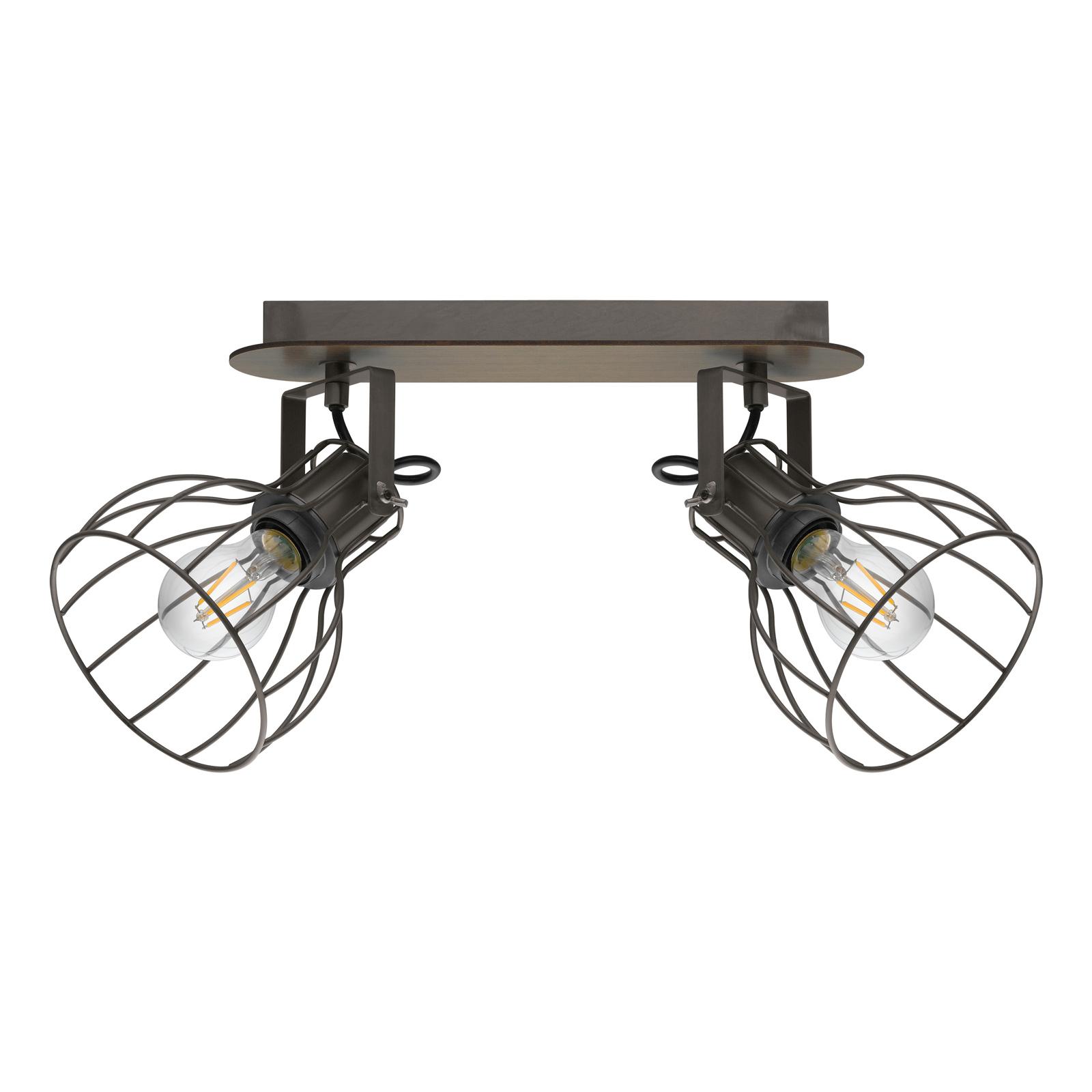 Plafondlamp Sambatello, 2-lamps
