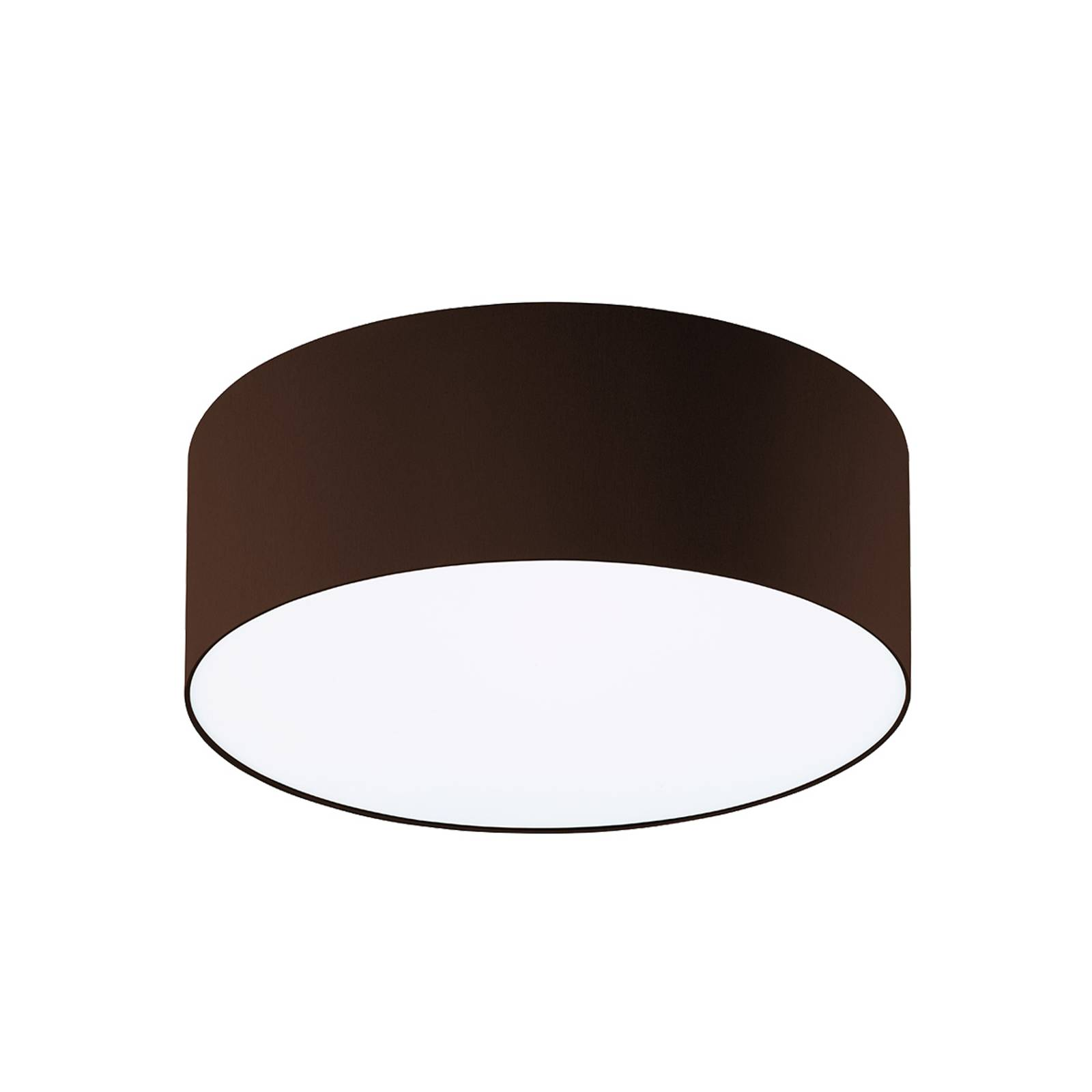 Mokkabruine plafondlamp Mara, 40 cm
