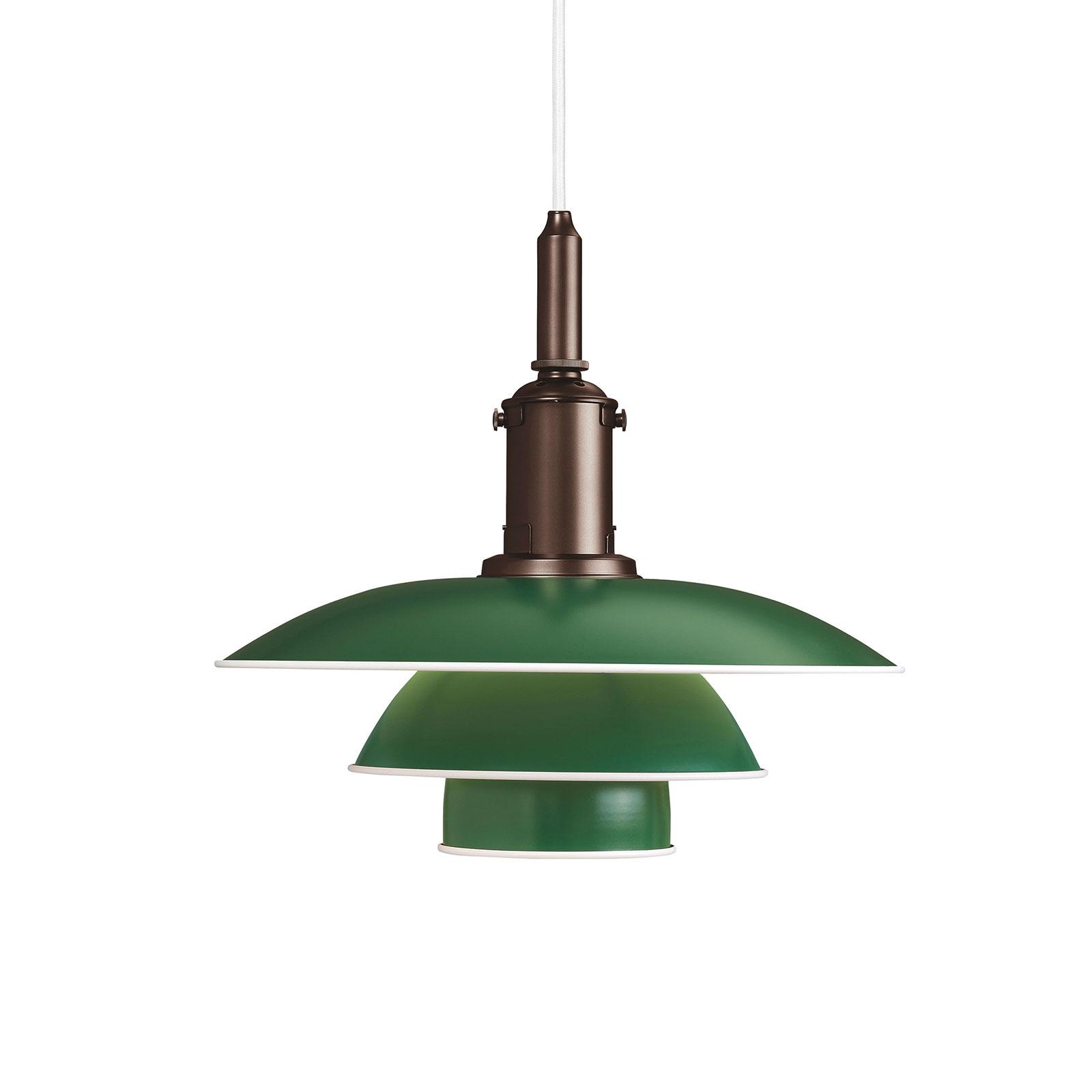 Louis Poulsen PH 3 1/2-3 Hängelampe kupfer/grün