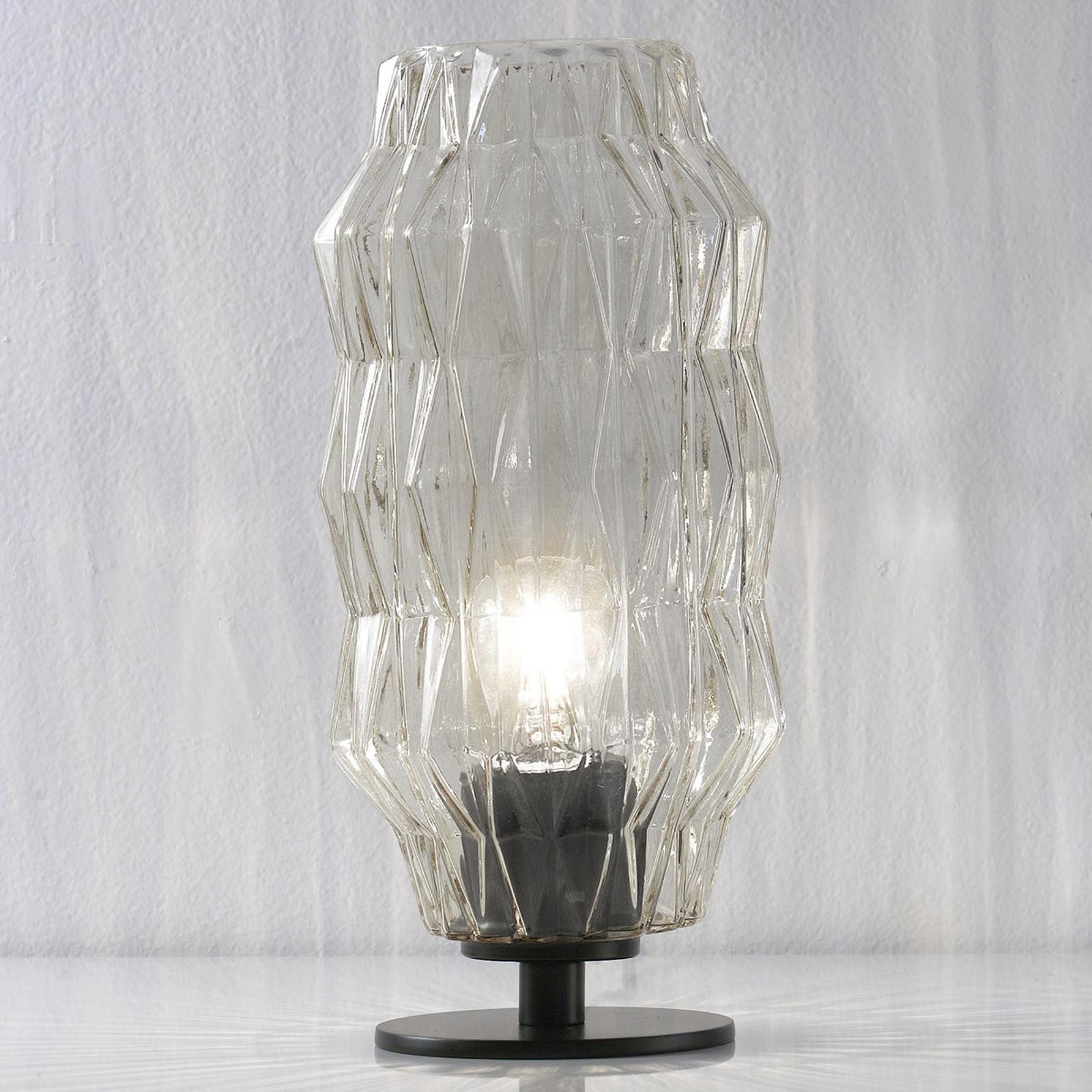 Origami - lampe à poser transparente