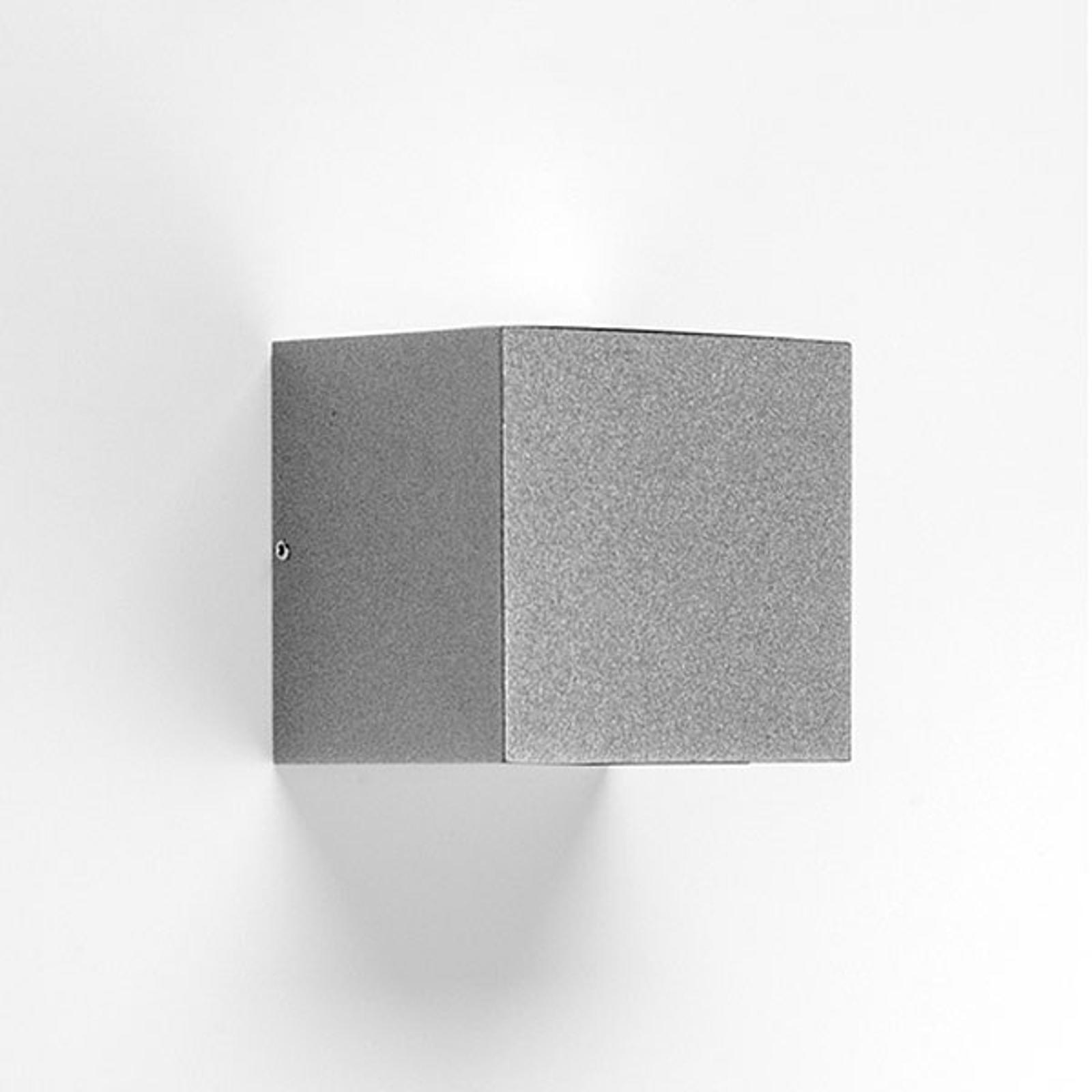 LED-vegglampe 303367 i grå, 1NB+1WB 4000K