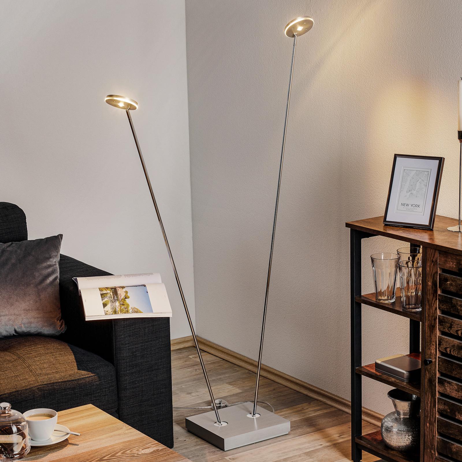 Escale Spot It – LED-gulvlampe med dimmer, 2 lys