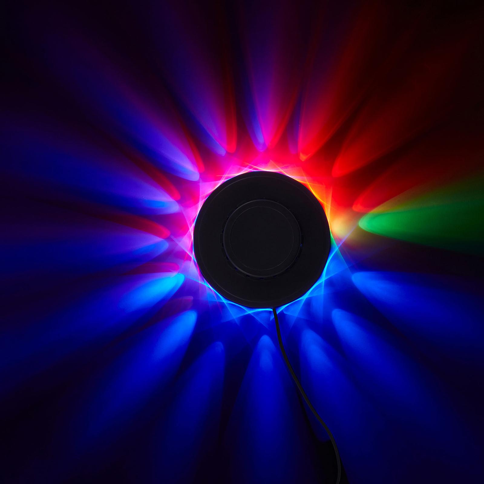 RGB-LED-Lichtrad - Dekoleuchte mit Musiksensor