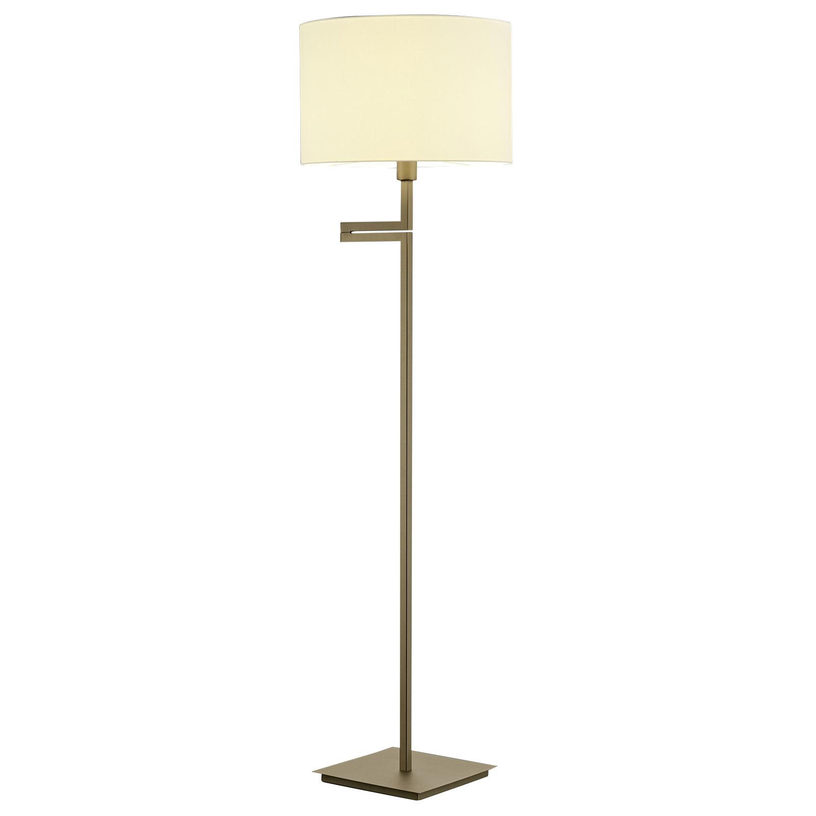 B-Leuchten Kabi vloerlamp, oudmessing
