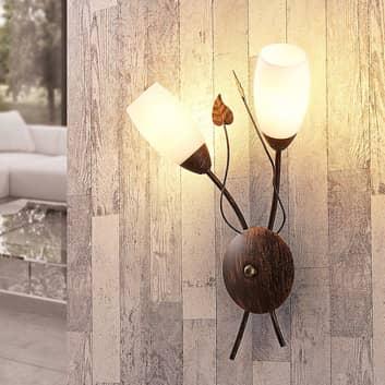 LED-Wandlampe Stefania, 2-fl.