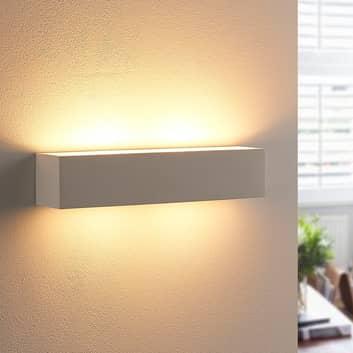 Kinkiet gipsowy Tjada, żarówki LED G9