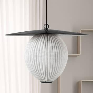 GUBI Satellite lampa wisząca Ø 22 cm biała kremowa