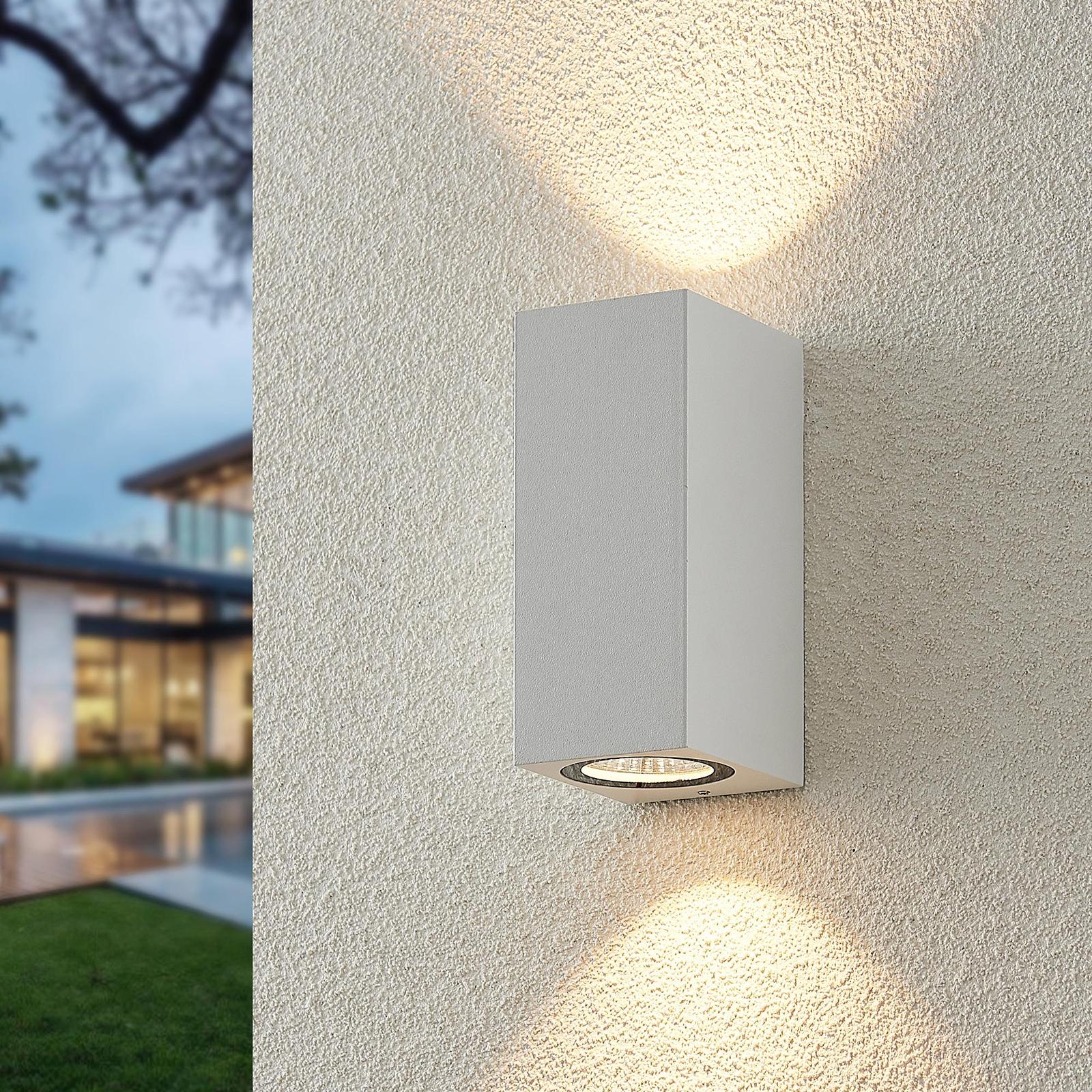 ELC Lanso LED-Außenwandleuchte, weiß