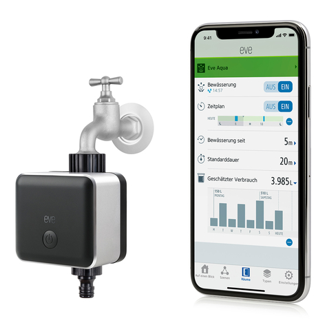 Eve Aqua Smart Home control de riego