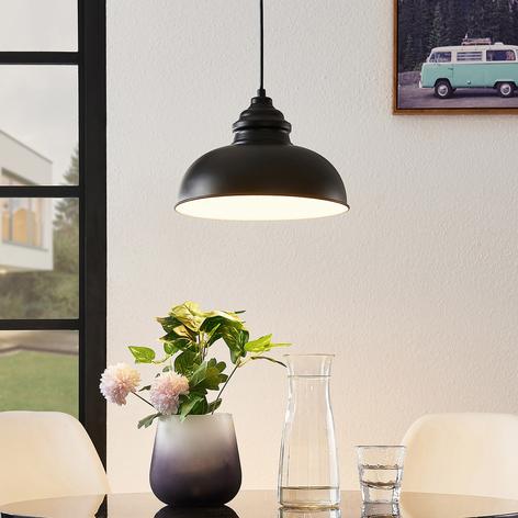 Lindby Cliona lampada a sospensione nero opaco