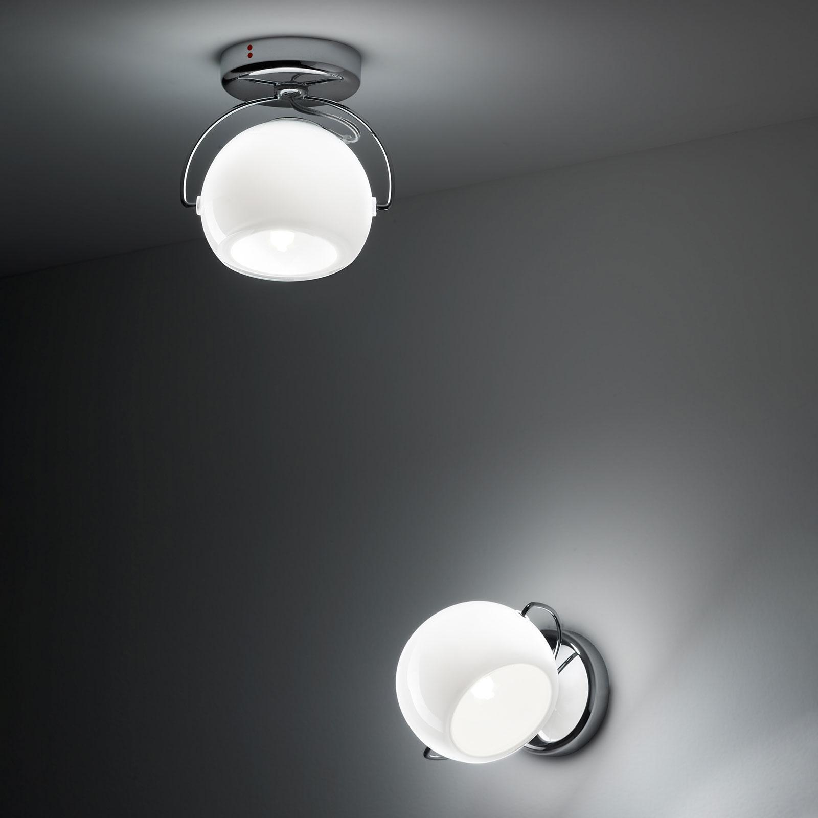 Fabbian Beluga White lampa sufitowa 1-punktowa