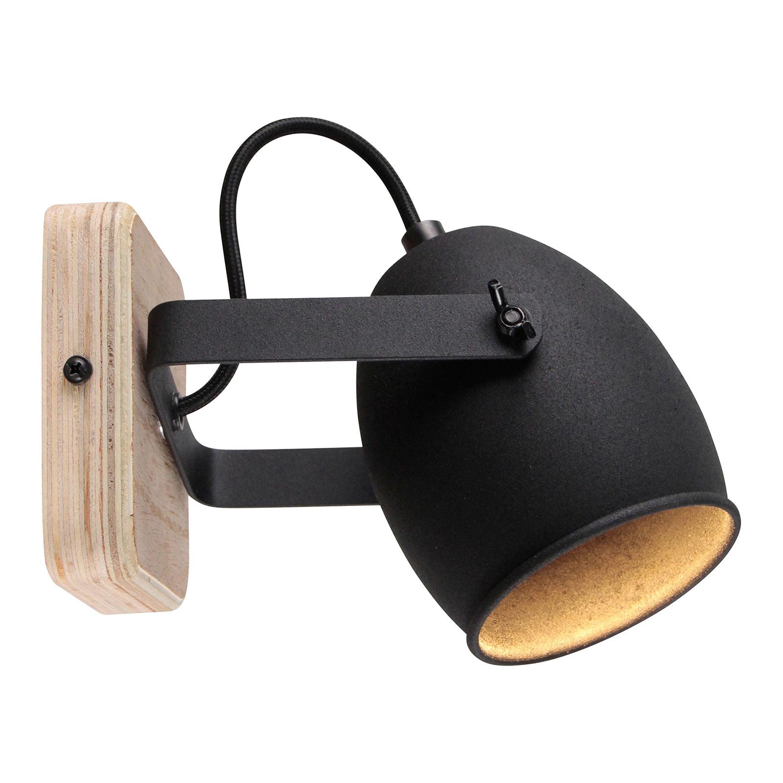 Vegglampe Crowton, svingbart hode