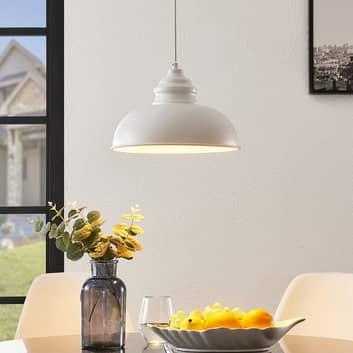 Lindby Cliona lampa wisząca biała matowa