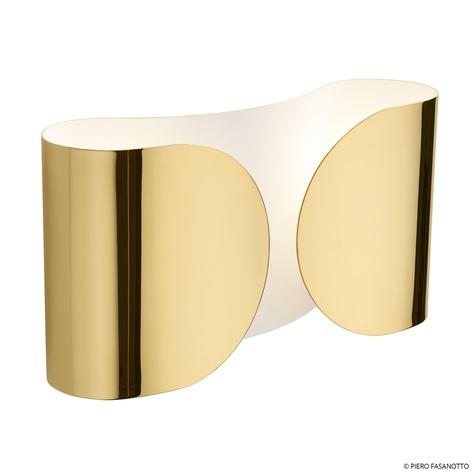 FLOS Foglio wandlamp, goud