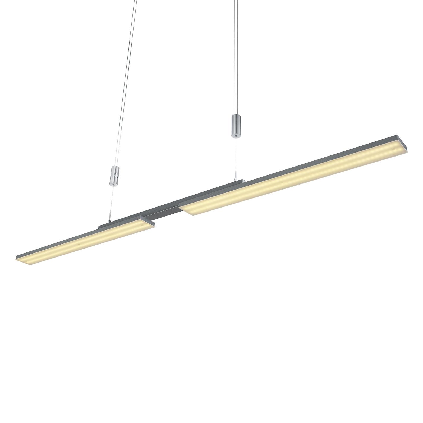 B-Leuchten Less lampa wisząca LED, antracyt
