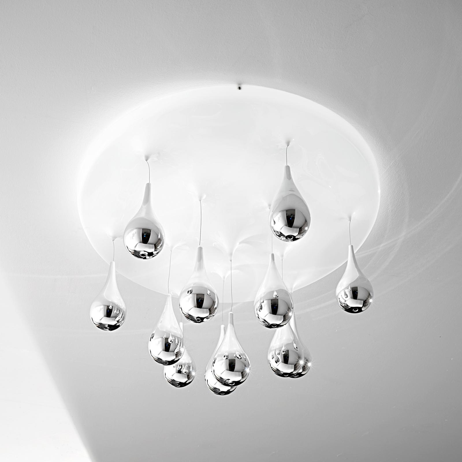Ekstrawagancka lampa sufitowa PIOGGIA Ø40 cm